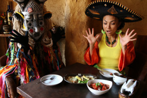 エルボラーチョ大名店のマリネーラは絶品!劇団AFRICA